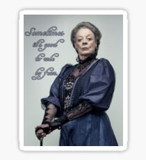 Lady Violet Quotes Sticker