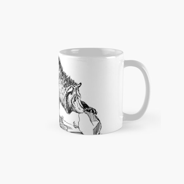 Grizzly Hollow - Black Classic Mug
