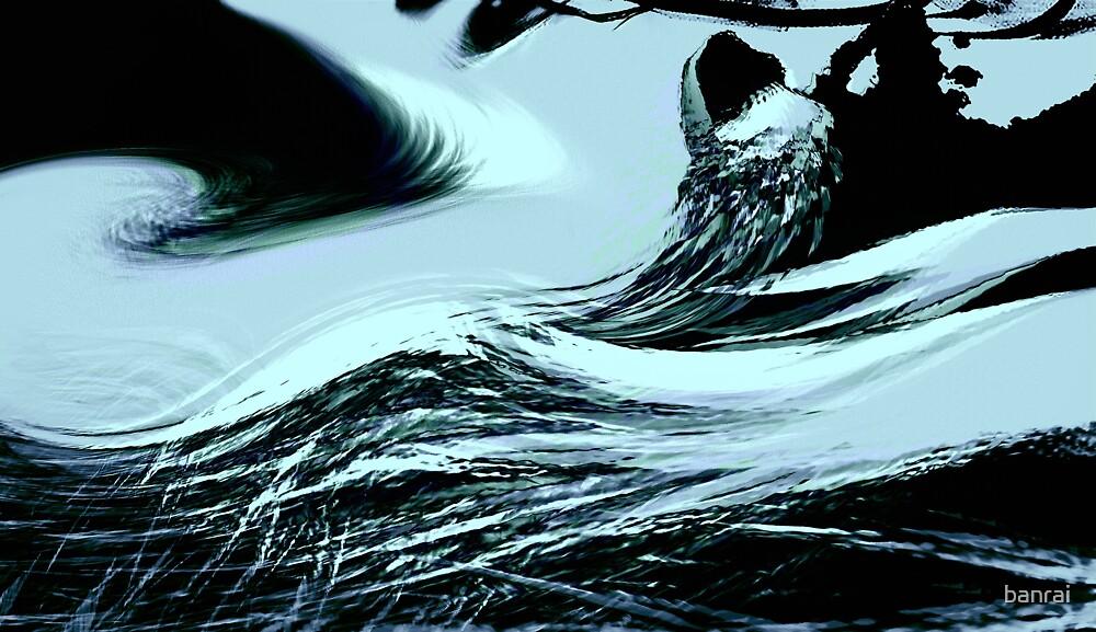 deadliest of waves.... rock point under sakura, nature's hand by banrai