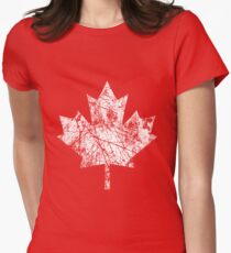 Canada Established 1867 Anniversary 150 Years Women's Fitted T-Shirt
