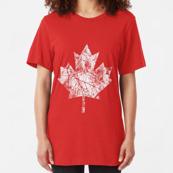Canada Established 1867 Anniversary 150 Years Slim Fit T-Shirt