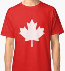 Canada Maple Leaf Flag Emblem Classic T-Shirt