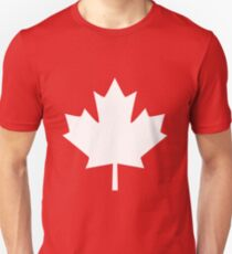 Canada Maple Leaf Flag Emblem Unisex T-Shirt