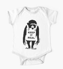 Banksy - Keep It Real One Piece - Short Sleeve