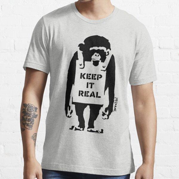 Banksy - Keep It Real Essential T-Shirt