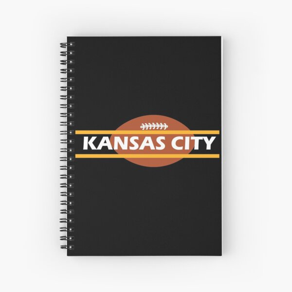 2020 Kansas City Cool Football KC Vintage Kc football fan Spiral Notebook