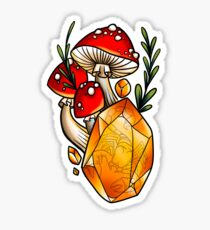Skorpion-Pilze Sticker