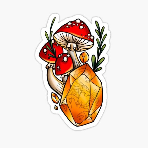 Scorpio Shrooms  Sticker