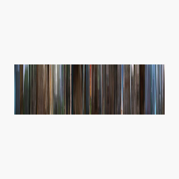 Moviebarcode: Monty Python and the Holy Grail (1975) Photographic Print