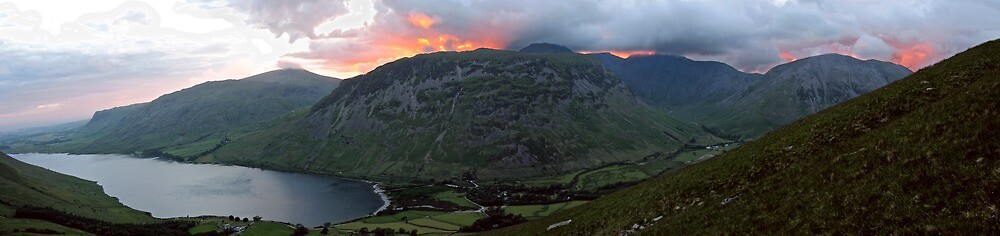 Wasdale from the slopes of Sca Fell by Skippyskipworth