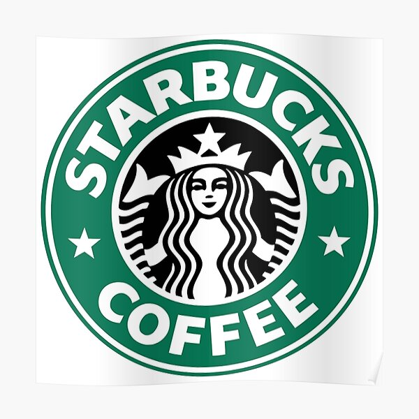 Starbucks coffee Logo  Poster