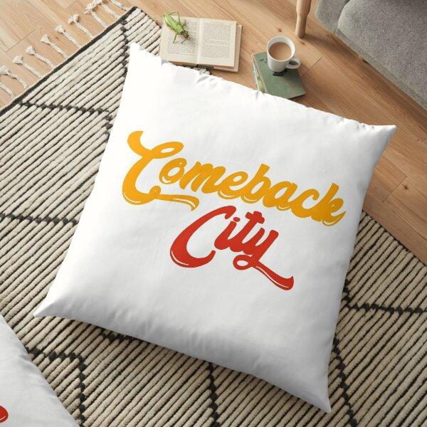 Kansas City - Comeback City Floor Pillow
