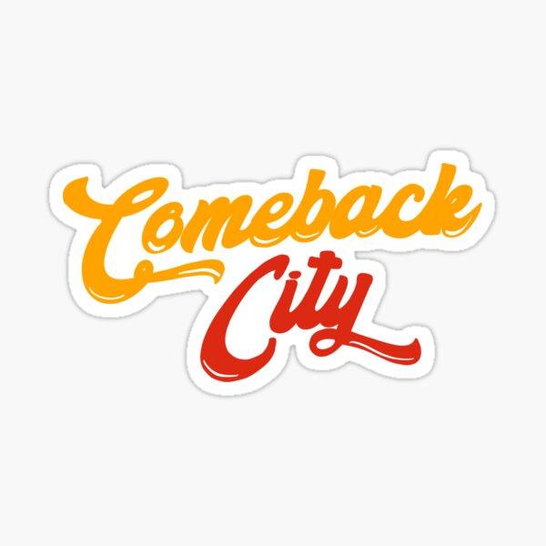 Kansas City - Comeback City Sticker