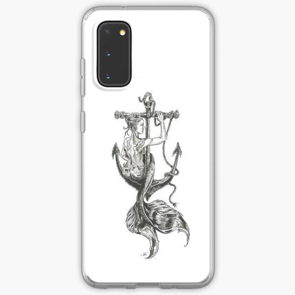 Mermaid and anchor Samsung Galaxy Soft Case