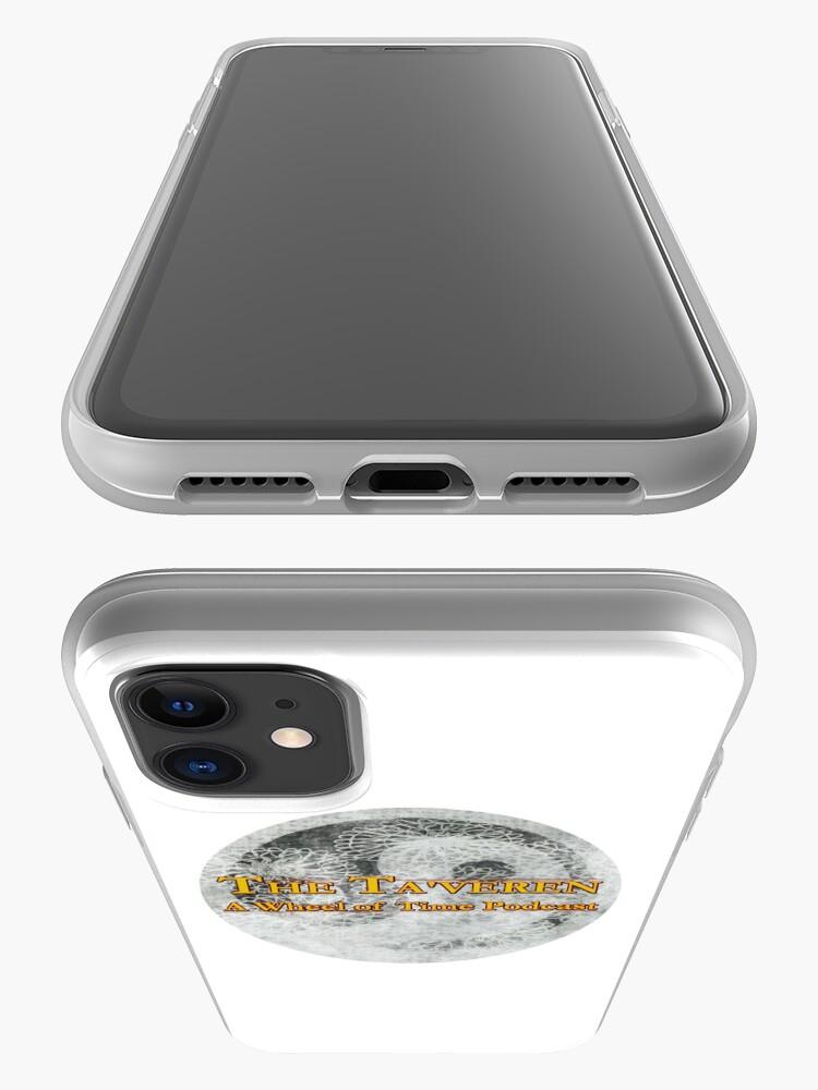 Alternate view of Ta'veren Podcast Logo iPhone Case & Cover