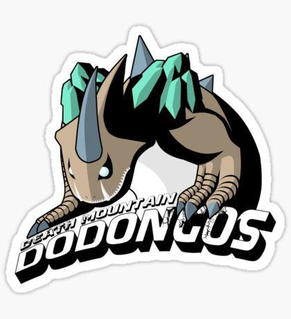 Death Mountain Dodongos Sticker