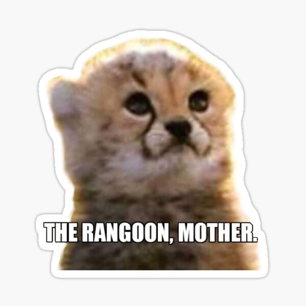 The Rangoon Mother Sticker By Lowercasealmond Redbubble