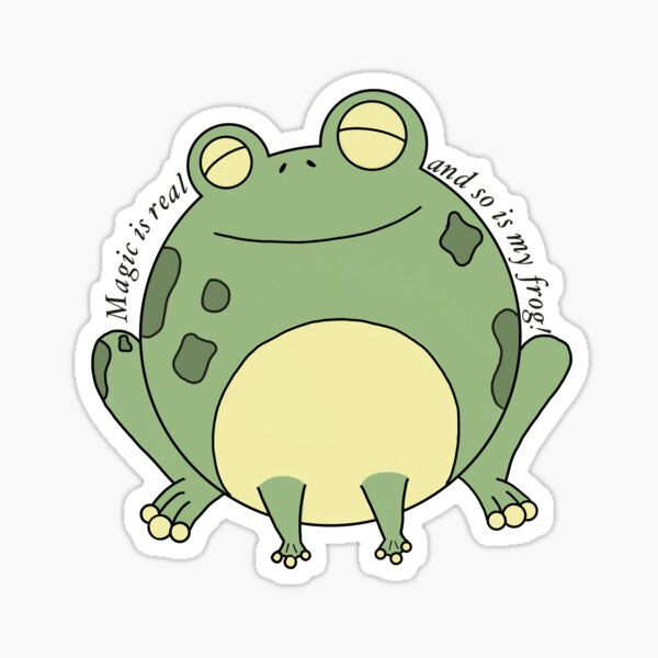 Boggy the Froggy Sticker