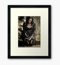 Dreams of Death [Mary McDonnell] Framed Print