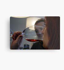 Wine tasting... Metal Print