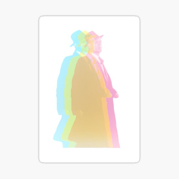 Last Man in Technicolor (From The Third Man by Orson Welles) Sticker