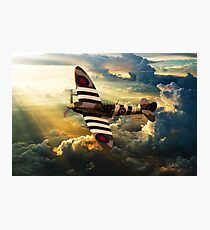 bbmf spitfire Photographic Print