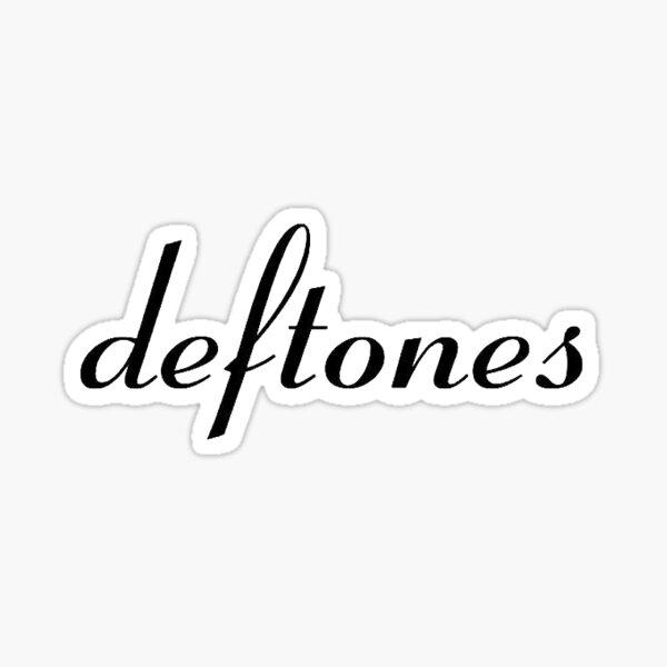 Deftones logo Sticker