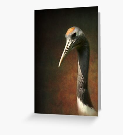 Noble and immortal - the Japanese Crane Greeting Card