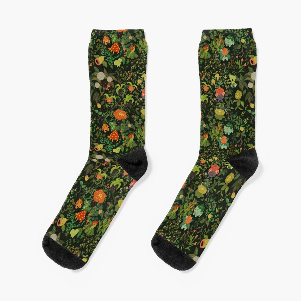 Forest Creatures Socks