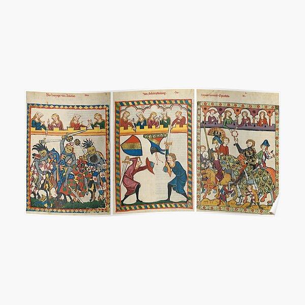 Codex Manesse, Book Poster