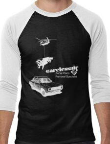 Careless Air (dark shirt) Men's Baseball ¾ T-Shirt