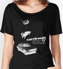 Careless Air (dark shirt) Women's Relaxed Fit T-Shirt