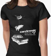 Careless Air (dark shirt) Womens Fitted T-Shirt