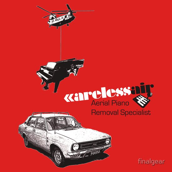TShirtGifter presents: Careless Air