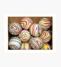 """Like"" a rubber ball Art Print"