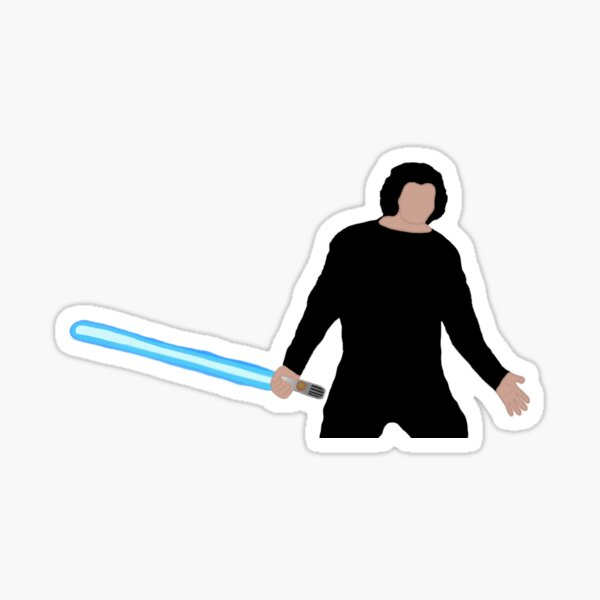 Ben Solo Redemption Shrug Sticker