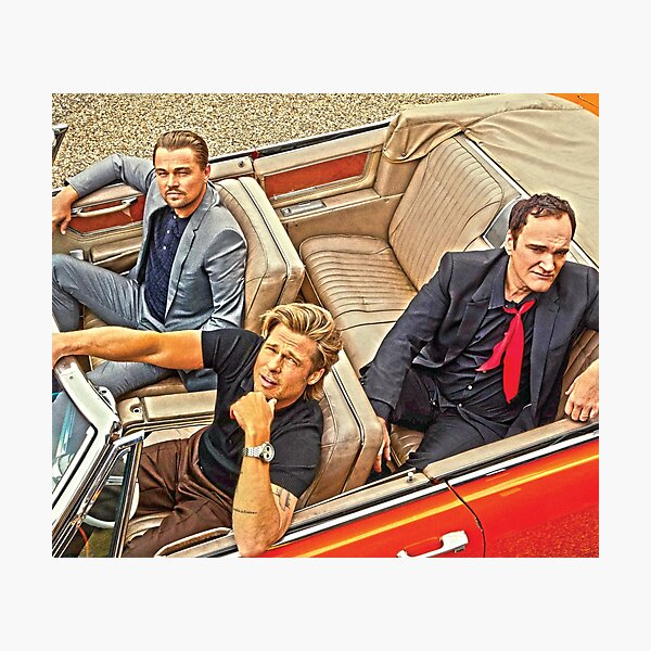 Quentin Tarantino | Once Upon a Time in Hollywood Photographic Print