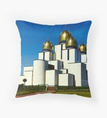 Great Church in Lviv, Ukraine Throw Pillow