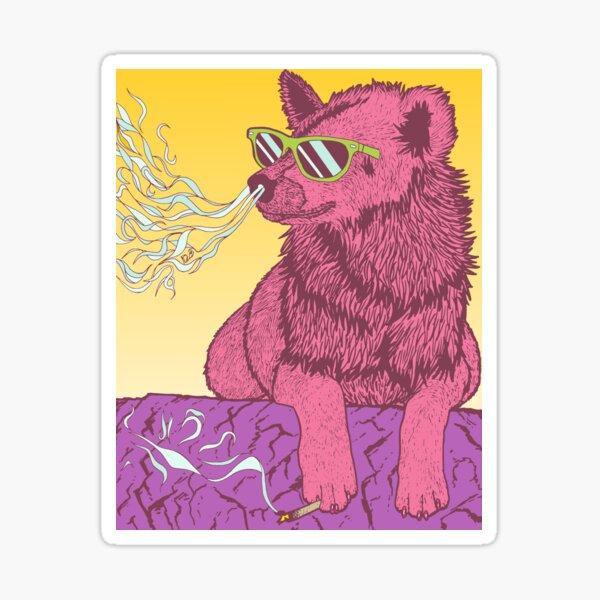 High Hyena v2 Sticker