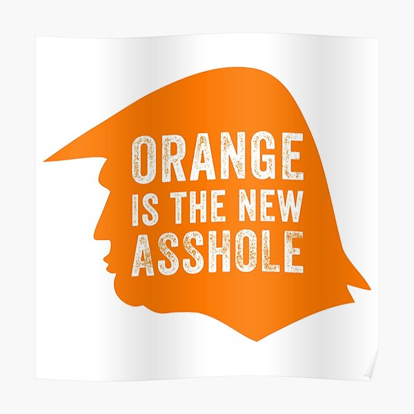 Orange is the new Asshole  Poster