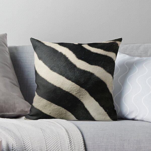 Zebra Pattern Throw Pillow