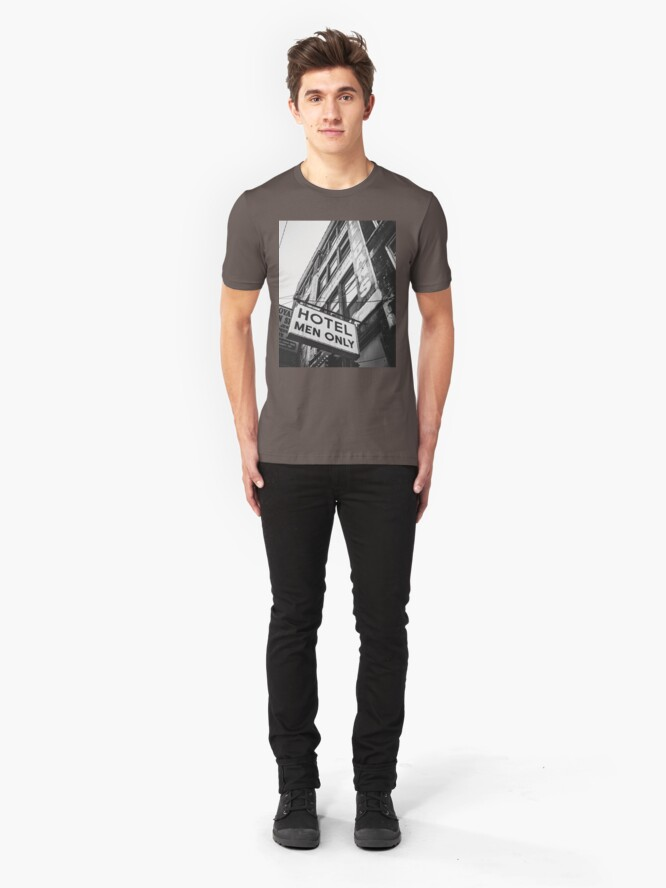 Alternate view of Hotel - Men Only Slim Fit T-Shirt
