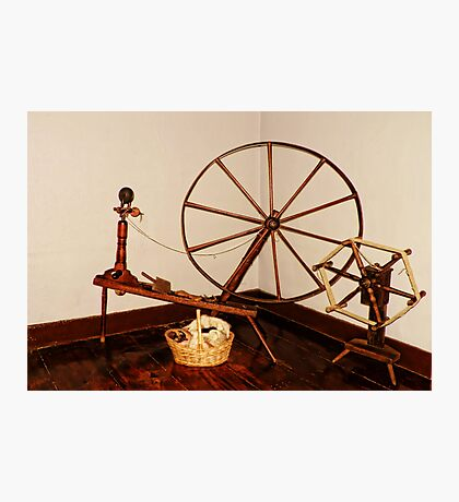 Flax Wheel Photographic Print