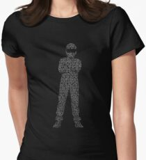 Some Say... Womens Fitted T-Shirt