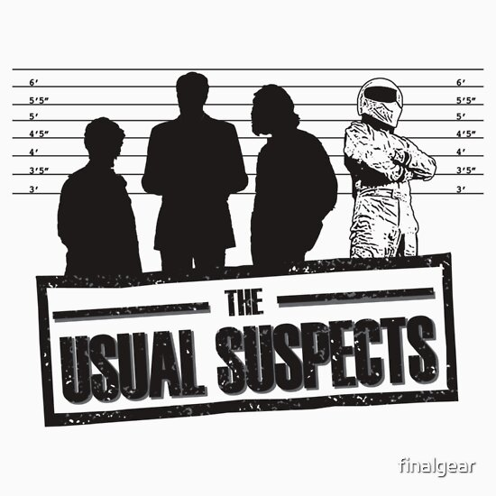 TShirtGifter presents: The Usual Suspects