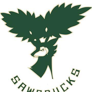 NEW Milwaukee Sawsbucks Logo by m4gni2de