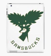NEW Milwaukee Sawsbucks Logo iPad Case/Skin