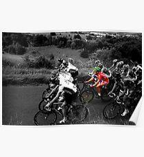 London Surrey Classic climbs Box Hill Poster