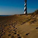 Sunrise At Cape Hatteras Lighthouse by Joe Elliott