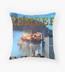 9/11 memorial #2 Throw Pillow